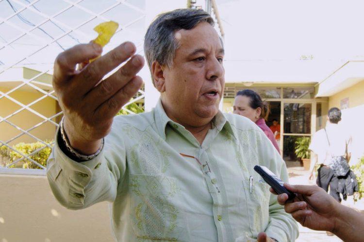 Mario Valle fue diputado del MRS y luego se unió a la bancada del FSLN. LA PRENSA/ ARCHIVO