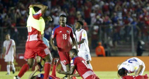 La selección de Panamá clasificó por primera vez a un Mundial de Futbol, el de Rusia 2018. LAPRENSA/ EFE
