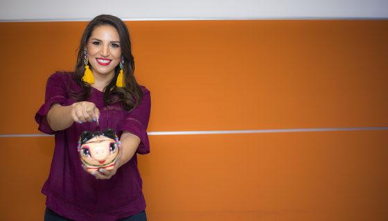 Elaine Miranda, experta en Finanzas Personales, 32 años. LA PRENSA/ ÓSCAR NAVARRETE