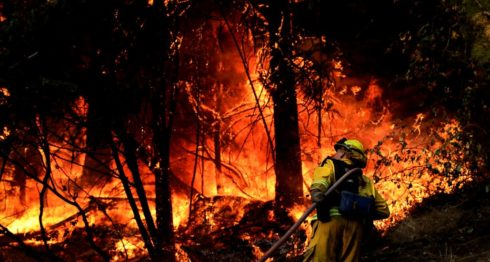 California, incendios en California