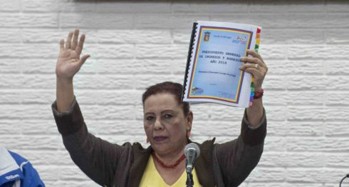 Alcaldesa inconstitucional, Daysi Torrez