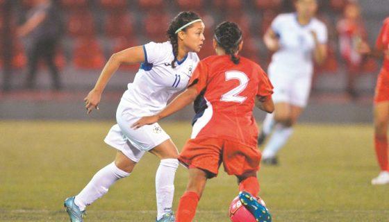 Selección Nicaragüense de Futbol femenina