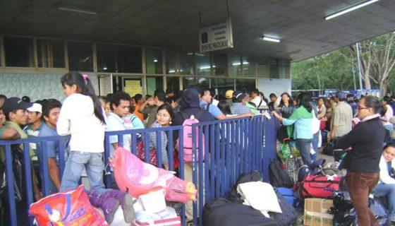 Uno de los lugares adonde más emigran los nicaragüenses es a Costa Rica. LA PRENSA/C. VALLE/ARCHIVO