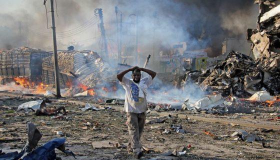 Somalia, atentado terrorista