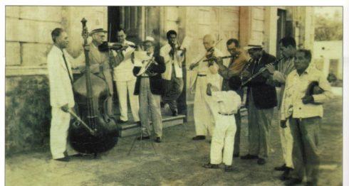 Imagen histórica de la famosa Orquesta Ramírez, de Masatepe. LA PRENSA/Cortesía/Fundación Luisa Mercado