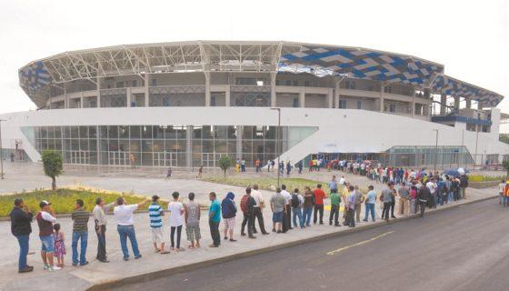 Resultado de imagen para boleto estadio dennis martinez