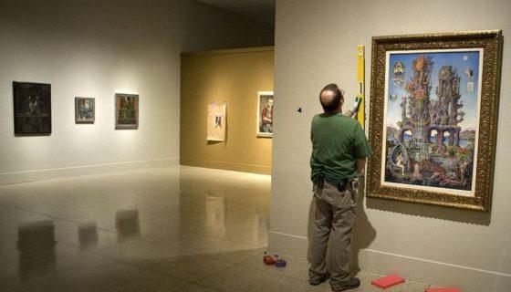 La exposición Maestros Modernos de América Latina en el Museo de Arte de San Diego, California, reúne 101 obras de famosos artistas como Rivera, Kalho, Lam y Botero. LA PRENSA/EFE/David Maung