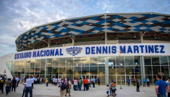 Este jueves, Daniel Ortega realizó un acto inaugural del nuevo Estadio Nacional Dennis Martínez. LA PRENSA/Carlos Valle