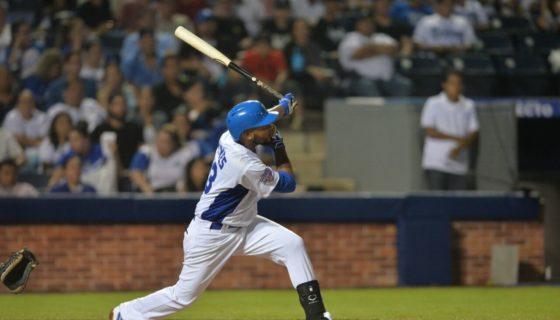 Elmer Reyes dio de jonrón por la Selección de Beisbol de Nicaragua, que perdió ante Colombia en la semifinal del torneo Pre Panamericano de Sao Paulo, Brasil. LA PRENSA/ARCHIVO/JADER FLORES