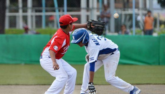 La Selección Nicaragüense de Beisbol ganó su primer partido en el Campeonato Panamericano de Beisbol Sub-12 de Managua. LA PRENSA/JADER FLORES