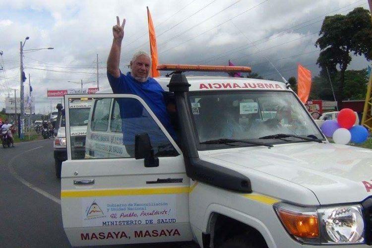 alcalde Orlando Noguera, candidato, FSLN, proselitismo, ambulancias, bienes públicos