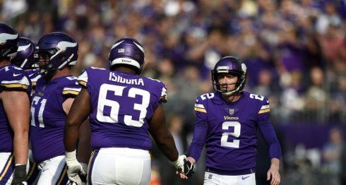 Vikings de Minnesota, NFL, Kai Forbath
