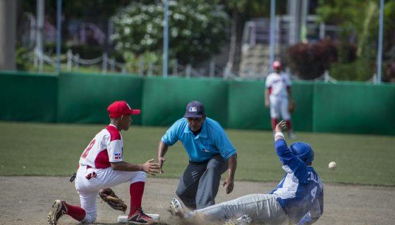 Nicaragua perdió a primera hora frente a República Dominicana, en una doble jornada del Campeonato Panamericano de Beisbol Sub-12. LA PRENSA/CARLOS VALLE