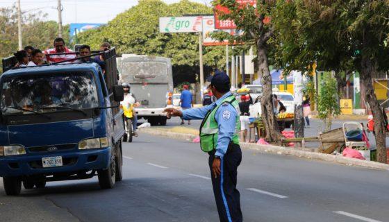 Seguridad de Tránsito, seguridad vial, Nicaragua