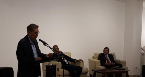 El pasado martes se llevó a cabo la Octava Cátedra Alejandro Serrano Caldera, donde se analiza la obra del filósofo.