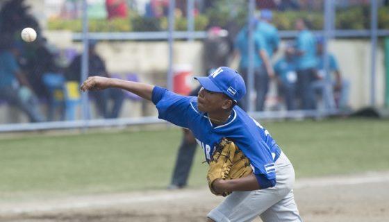 Nicaragua lleva cinco victorias y dos derrotas en el Campeonato Panamericano de Beisbol Sub-12. LA PRENSA/WILMER LÓPEZ