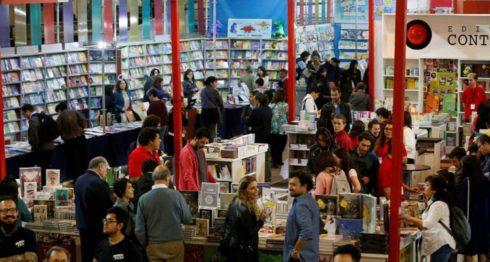 Inauguración de la 37 edición de la Feria Internacional de Libro de Santiago (Filsa) en Santiago (Chile). Este magno evento internacional arrancó con la presencia de 800 editoriales e Italia como invitada de honor.LAPRENSA/EFE/Elvis González
