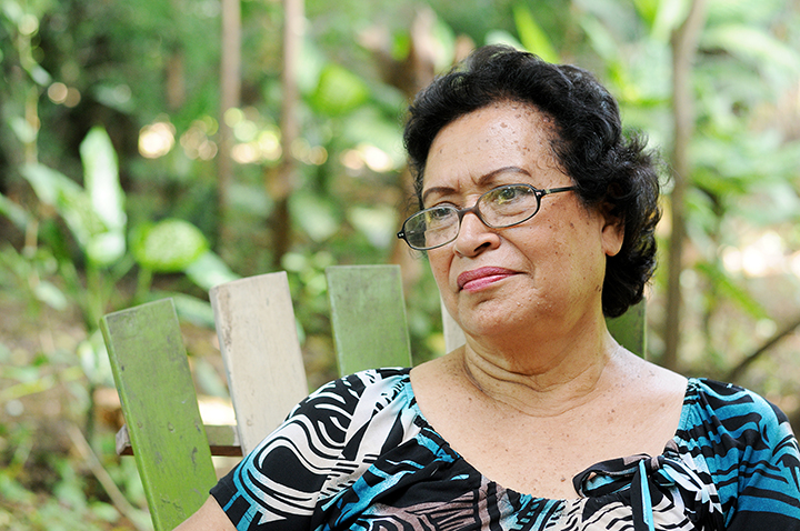 Ana Ilce Gómez, poeta nicaragüense. Masaya, 8 de agosto del 2012. LAPRENSA/Carlos Herrera /Archivo