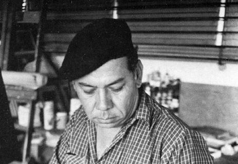 Arnoldo Guillén, pintor homenajeado por el grupo Inmanti. LA PRENSA/Archivo
