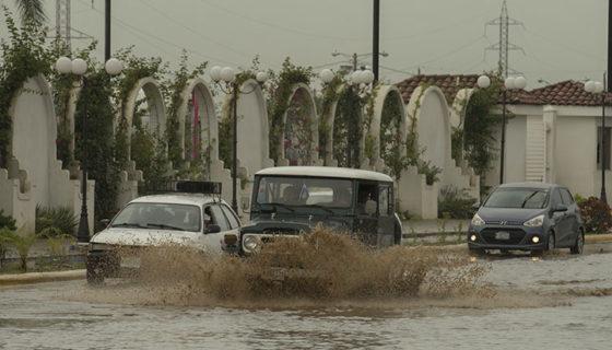 Managua, lluvias