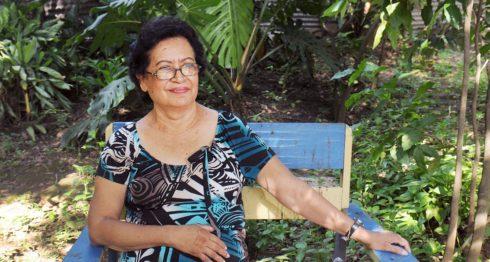 Ana Ilce Gómez, poeta nicaragüense. LA PRENSA/Carlos Herrera / Archivo