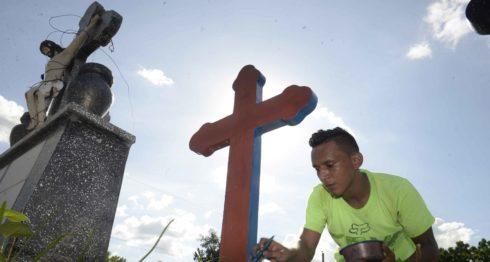 cementerio., Managua