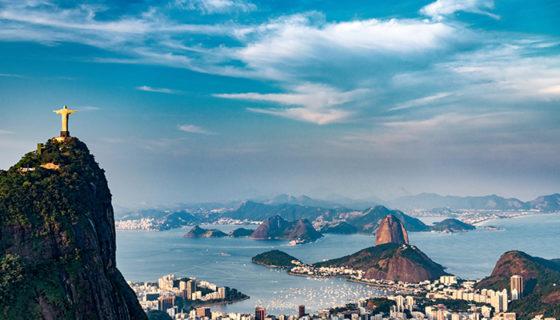 Vista aérea de Río de Janeiro, Brasil. LAPRENSA/ thinkstock