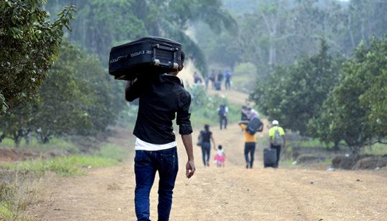 La mayoría de migrantes provenientes de Nicaragua emigran hace Costa Rica, Estados Unidos y a España. LAPRENSA/ JADER FLORES
