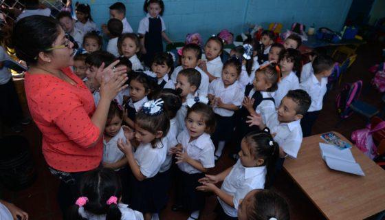 Nicaragua, educación, Unesco, primaria, preescolar, Matrícula escolar
