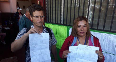 Matagalapa, elecciones municipales