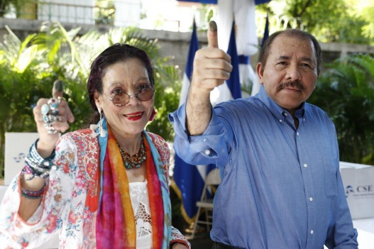 Resultado de imagen para fotos de Daniel Ortega y Rosario Murillo