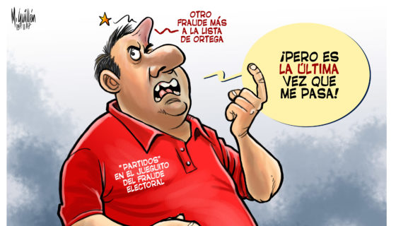 Daniel Ortega, Caricatura