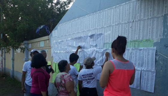 Ciudad Sandino, elecciones municipales