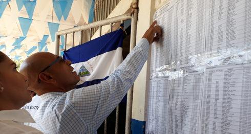 votaciones, Juigalpa