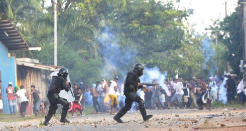 Yatama protesta