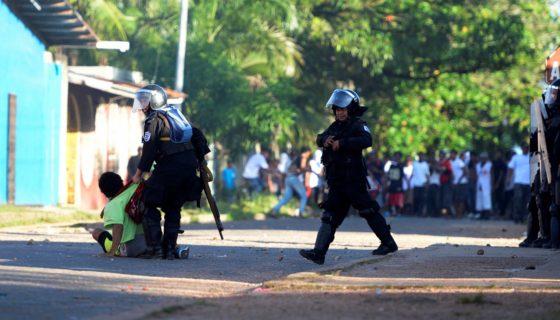 denuncias electorales, violencia electoral, Nicaragua, elecciones municipales 2017,