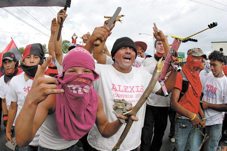 violencia electoral, Nicaragua, FSLN