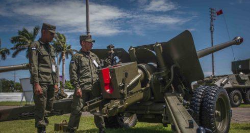Ejército, Ejército de Nicaragua, tropas extranjeras, militares, ejercicios