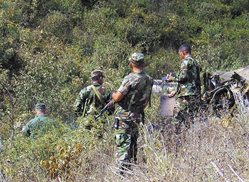 Ejército de Nicaragua, la cruz de río grande, grupos armados, operativo militar
