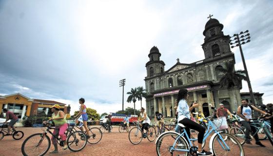 managua, ciclistas, Nicaragua
