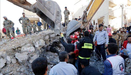 Irak, Irán, terremoto