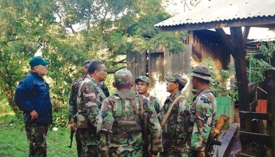 Ejército de Nicaragua, Nicaragua, La Cruz de Río Grande, grupos armados