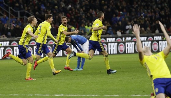 Suecia, Italia, Eliminatoria Rusia 2018