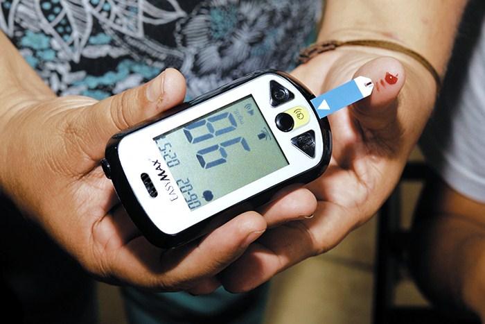 proyección de diabetes