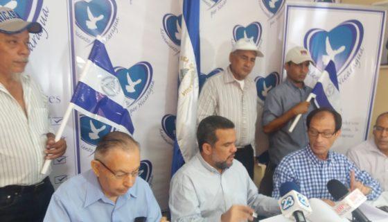Miembros del Movimiento por Nicaragua hicieron duras críticas a la Misión de Acompañamiento Electoral de la OEA.