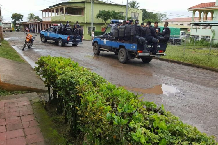 Policía, San Pedro de Lóvago, municipios, retenes