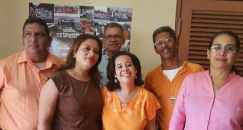 Suyén Barahona (centro) será la próxima presidenta del MRS.