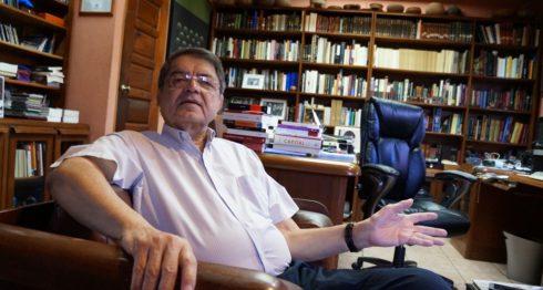 Escritor Sergio Ramírez. LA PRENSA/Arnulfo Agüero