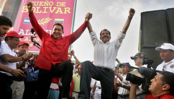 Nicaragua, Venezuela, Daniel Ortega, Hugo Chávez