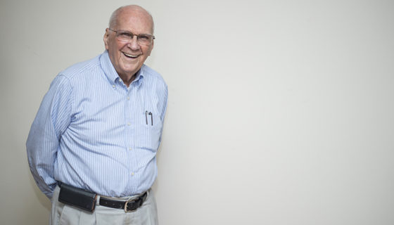 Ingeniero Enrique Bolaños Gayer, expresidente de Nicaragua. LA PRENSA/ OSCAR NAVARRETE